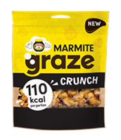 graze and Marmite collaborate to launch Marmite Crunch – marking graze's first brand collaboration