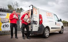Pet store Jollyes makes big donation to Dogs on the Streets charity
