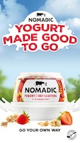 Nomadic Dairy launches advertising campaign to welcome people back to work