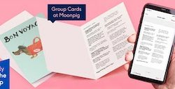 Moonpig launches group card function allowing up to 20 people to sign a card online