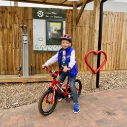 New cycle repair stations rolled out at 21 Central England Co-op sites to encourage cycle use
