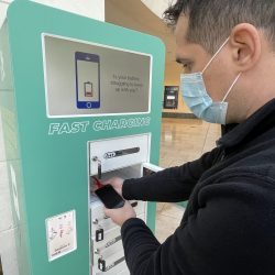 Bluewater partners with ChargeBox to provide free and fast mobile device charge points