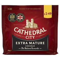 Saputo Dairy UK announces refresh of Cathedral City PMP range