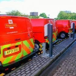 Royal Mail charges up its fleet with ten-fold increase in electric vehicles