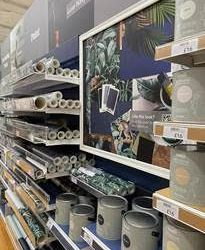 Dunelm launches first range of own-brand matt and eggshell paints with over 150 coordinating wallpaper designs