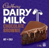 Vittles Foods launches Cadbury Brownies exclusive to Iceland