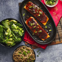 Iceland's exclusive Slimming World range is expanding with a Teriyaki Salmon and Four Bean Chilli dishes