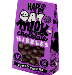 Happi Free From launches Oat M!lk Chocolate Nibbles