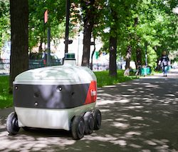 Yandex SDG and Grubhub partner for robotic delivery on US college campuses