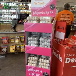 Mademoiselle Desserts launches French Mini Beignets at Spar in Scotland