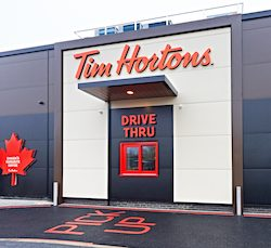 Tim Hortons® signs at Landsec retail and leisure park trio