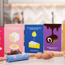 Moonpig launches limited range of edible greeting cards