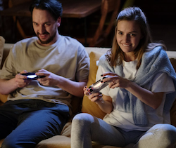 How much money is spent on online games?