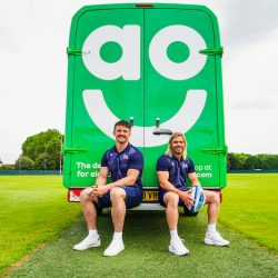 AO is new sponsor of Premiership Rugby team Sale Sharks