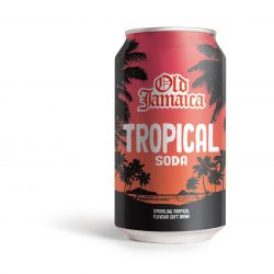 Old Jamaica overhauls soda range with a brand redesign, new tropical fruit flavour, and a two-litre PET bottle format