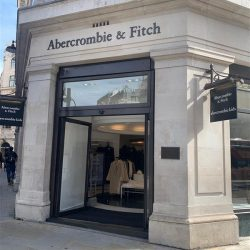 Abercrombie & Fitch opens store on London's iconic Regent Street