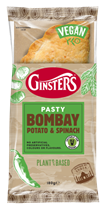 Ginsters debuts range of plant-based Pasties inspired by global flavours