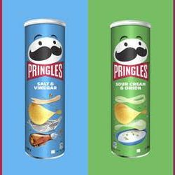 Mr Pringles sports bold new look in first makeover in 20 years