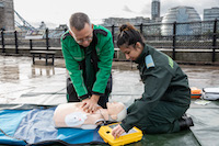The retail sector encouraged to register all defibrillators and help save lives