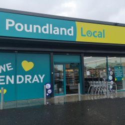 Poundland to transform 10 Fultons stores and rollout frozen food to 50 more Poundland stores