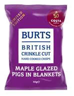 Burts Snacks and Costa Coffee strengthen relationship with seasonal launch